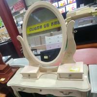 화장대+의자(아이보리)
